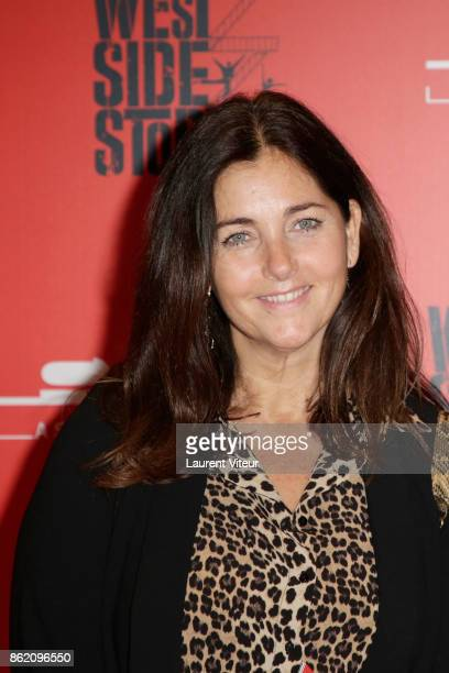 Cristiana Reali attends 'West Side Story' at La Seine Musicale on October 16 2017 in BoulogneBillancourt France