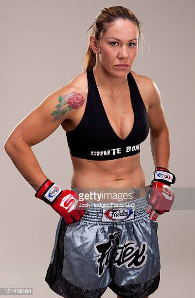 Cristiane 'Cyborg' Santos poses for a portrait on May 8 2011 in Las Vegas Nevada