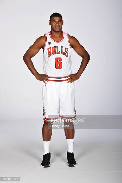 Cristiano Da Silva Felicio of the Chicago Bulls poses for a portrait during Media Day on September 28 2015 at the Advocate Center in Chicago Illinois...