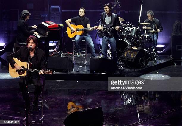 Cristiano De André attends 'Vieni Via Con Me' Italian TV Show held at Rai Studios on November 15 2010 in Milan Italy