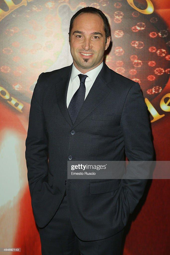 Cristiano De Masi attends the 'Ballando con le stelle' 100th Episode Party at La Villa on December 9, 2013 in Rome, Italy.