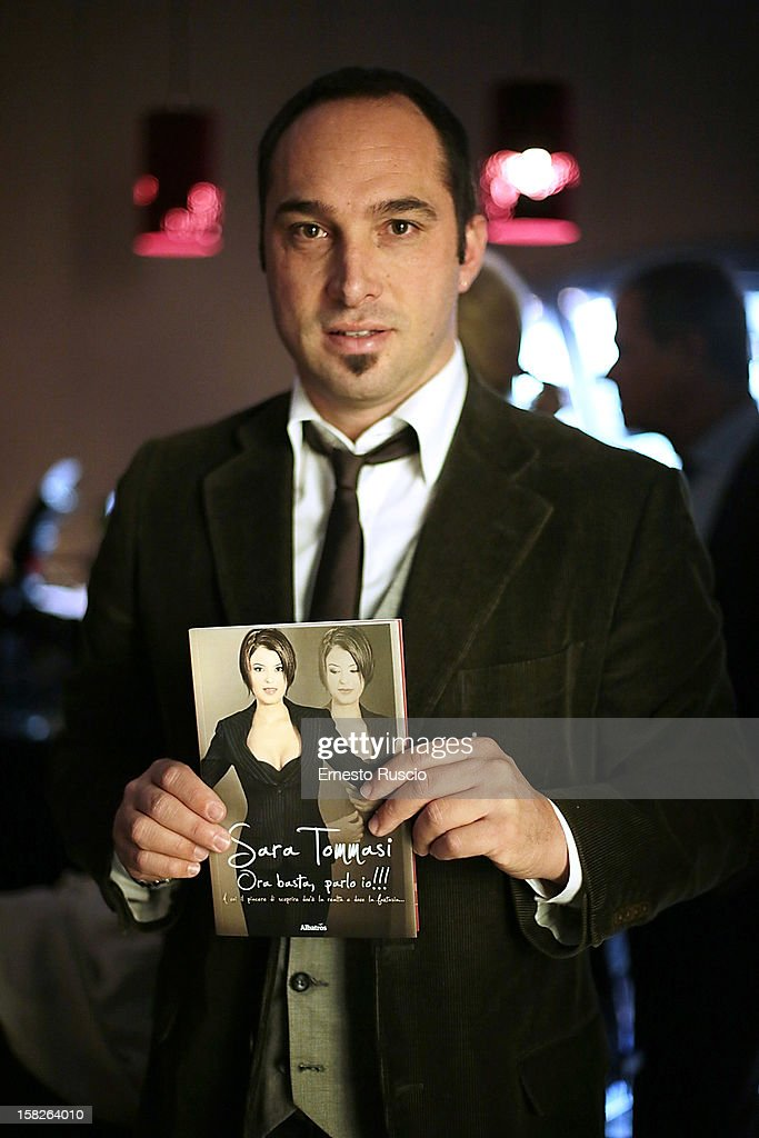 Cristiano De Masi attends the Book Launch 'Ora Basta Parlo Io' at Elle Restaurant on December 12, 2012 in Rome, Italy.