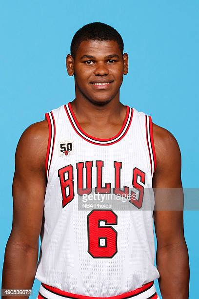 Cristiano Felicio of the Chicago Bulls poses for a portrait during Media Day on September 28 2015 at the Advocate Center in Chicago Illinois NOTE TO...