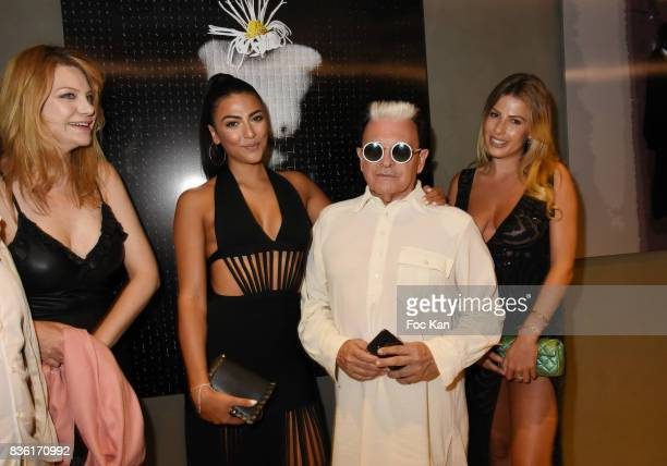 Cristiano Malgioglio and guests attend the Massimo Birthday Party at Hotel de Paris As Part of SaintTropez Party On French Riviera on August 20 2017...