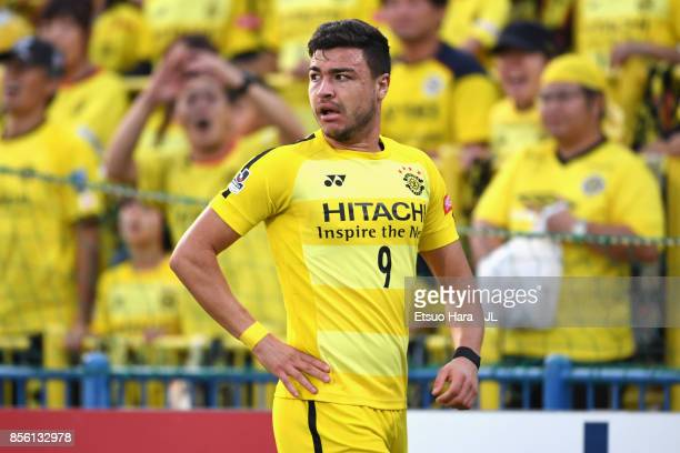 Cristiano of Kashiwa Reysol in action during the JLeague J1 match between Kashiwa Reysol and Ventforet Kofu at Hitachi Kashiwa Soccer Stadium on...