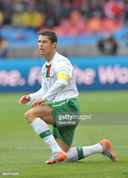 Cristiano RONALDO Cote d'Ivoire / Portugal Coupe du Monde 2010 Match 13 Groupe G Nelson Mandela Bay Stadium Port Elizabeth Afrique du Sud Photo Dave...