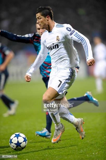 Cristiano RONALDO Lyon / Real Madrid 1/8 Finale aller Champions League