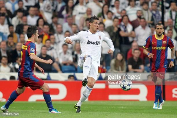 Cristiano Ronaldo Real Madrid / Barcelone 1/2 finale aller de Ligue des Champions MadridStadeSantiago Bernabeu