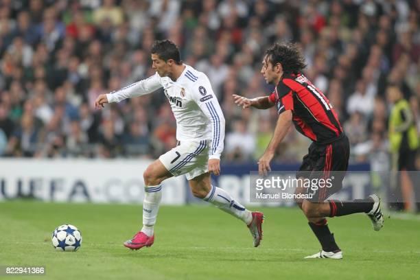 Cristiano Ronaldo / Alessandro Nesta Real Madrid / Milan AC Champions League 2010/2011