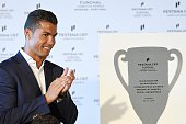 Cristiano Ronaldo during the opening of the new Pestana CR7 Funchal' Hotel owned by Cristiano Ronaldo on July 22 2016 in Funchal Madeira Portugal