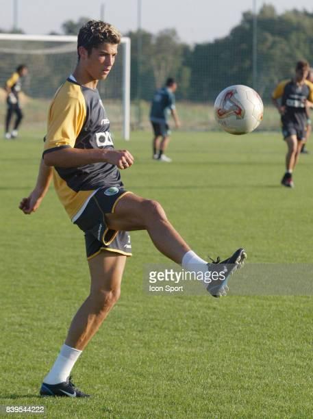 Cristiano RONALDO Entrainement 2002/2003