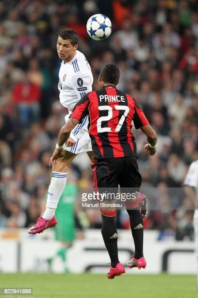 Cristiano Ronaldo / Kevin Prince Boateng Real Madrid / Milan AC Champions League 2010/2011