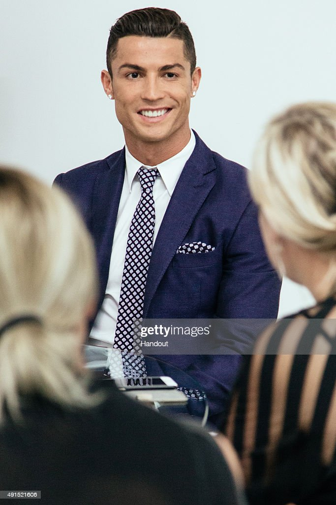 Cristiano Ronaldo makes his catwalk debut to model new styles at the global launch of his. New Styles Photos