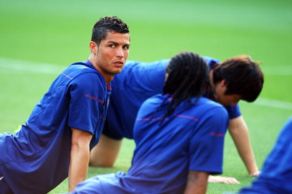 UEFA Champions League Final - Manchester United Training Session : News Photo