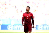 Cristiano Ronaldo of Portugal controls the ball during the 2014 FIFA World Cup Brazil Group G match between Portugal and Ghana at Estadio Nacional on...