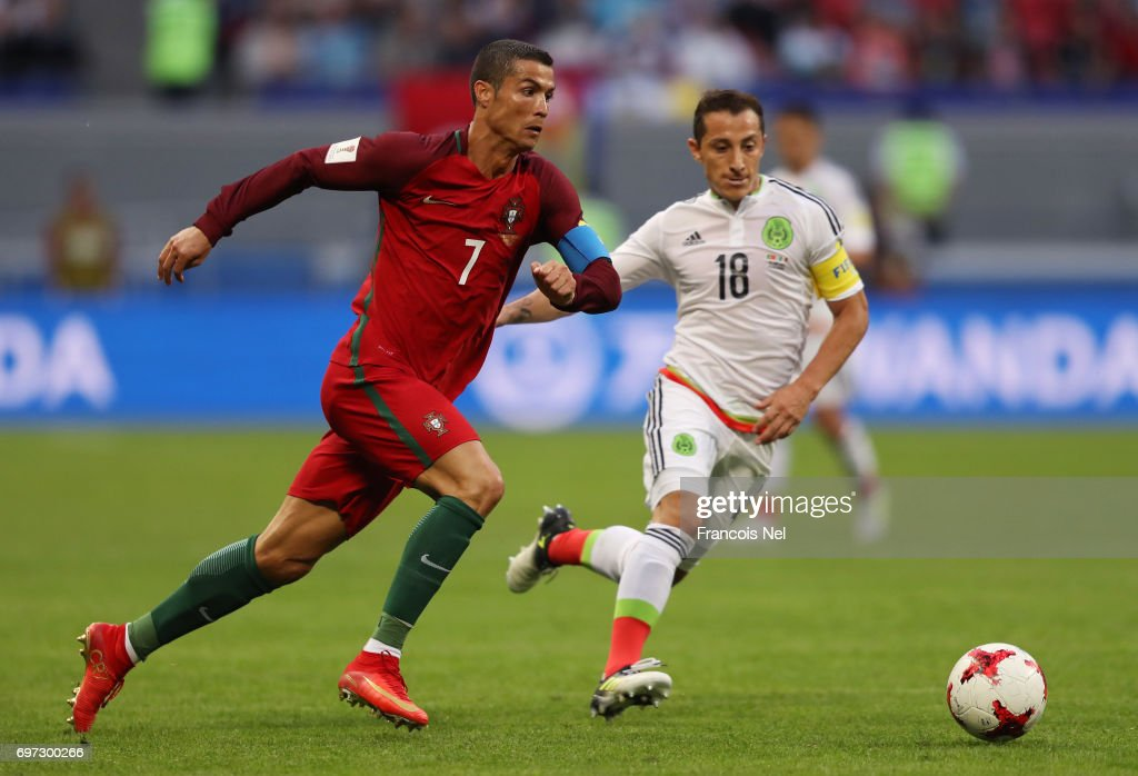 Portugal v Mexico: Group A - FIFA Confederations Cup Russia 2017 : News Photo