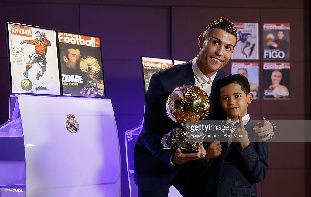 Cristiano Ronaldo Announced as Winner of the Ballon D'Or 2016