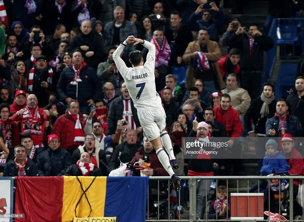 Atletico Madrid vs Real Madrid CF - La Liga : News Photo