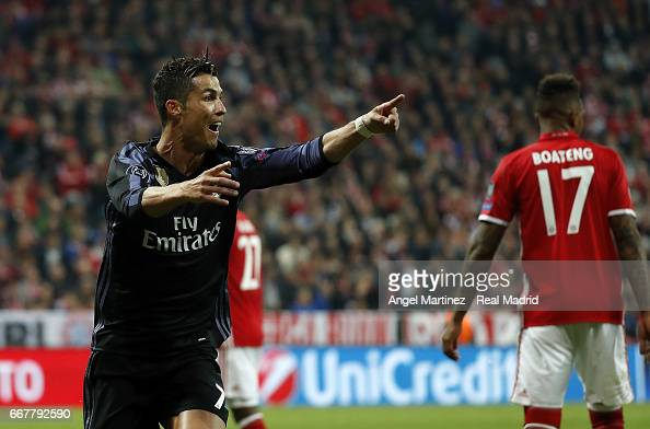 FC Bayern Muenchen v Real Madrid CF - UEFA Champions League Quarter Final: First Leg : News Photo
