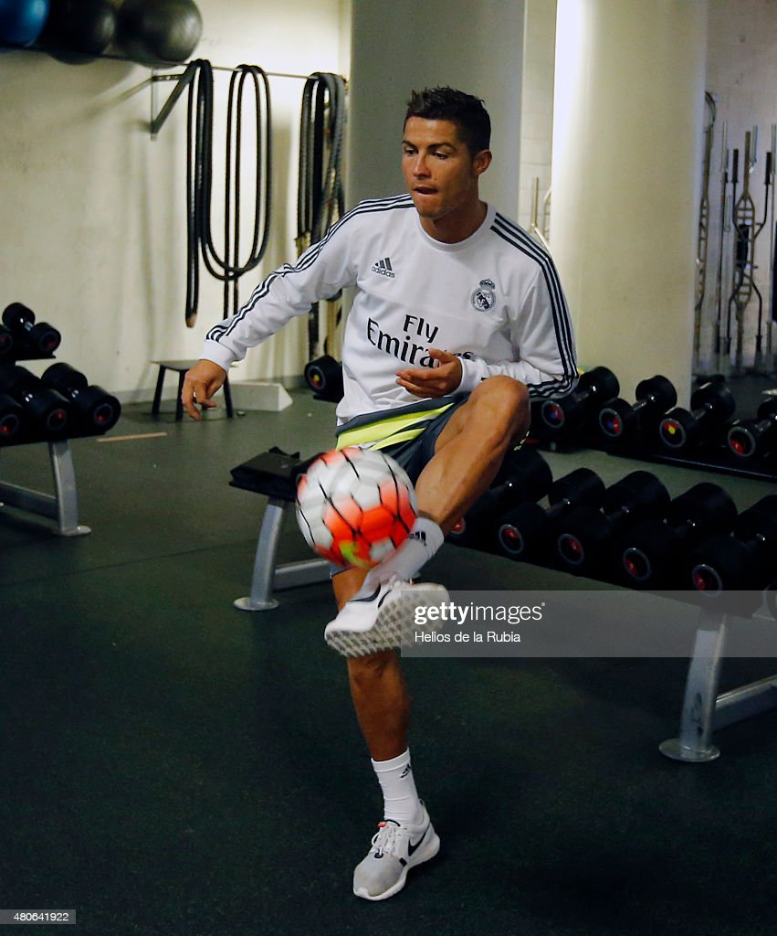 Real madrid training session getty images for El gimnasio