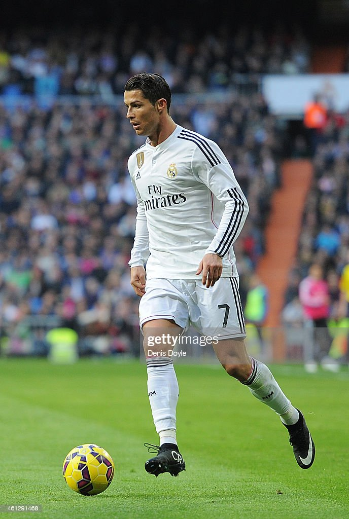 Real Madrid In Action During The La Liga Match Between Espanyol And ...