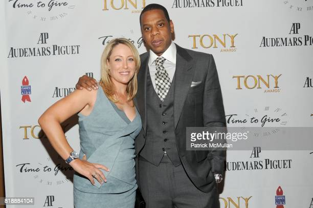 Cristie Kerr and JayZ attend AUDEMARS PIGUET 'Time To Give' Celebrity Watch Auction to Benefit Broadway Cares / Equity Fights AIDS Auction at Fours...