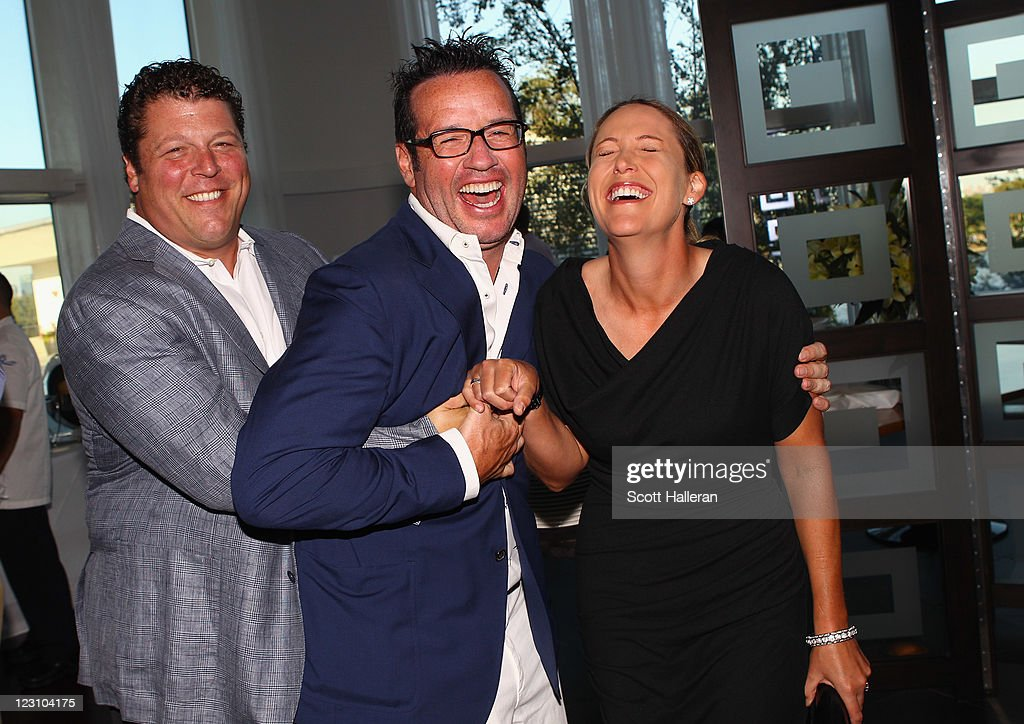 <a gi-track='captionPersonalityLinkClicked' href=/galleries/search?phrase=Cristie+Kerr&family=editorial&specificpeople=213495 ng-click='$event.stopPropagation()'>Cristie Kerr</a> (R) poses with <a gi-track='captionPersonalityLinkClicked' href=/galleries/search?phrase=Francois-Henry+Bennahmias&family=editorial&specificpeople=2357916 ng-click='$event.stopPropagation()'>Francois-Henry Bennahmias</a>, President of Audemars Piguet NA, (C) and Dan Fireman after the Birdies for Breast Cancer Foundation Liberty Cup at Liberty National Golf Club on August 30, 2011 in Jersey City, New Jersey.