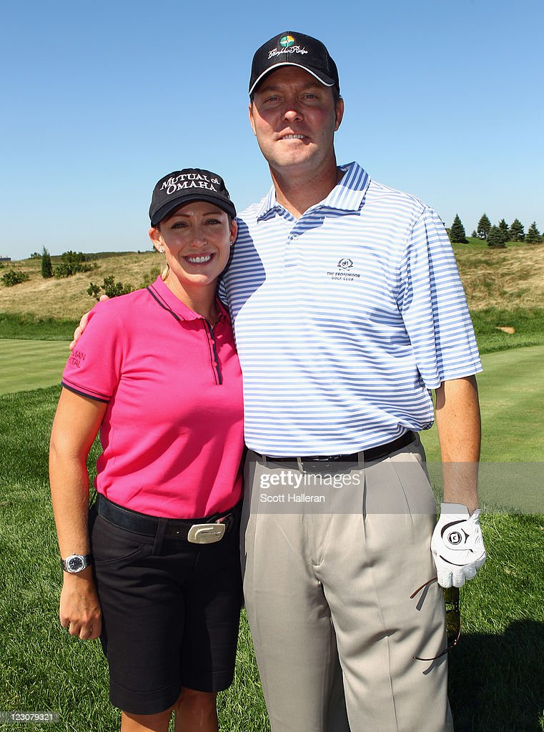 <a gi-track='captionPersonalityLinkClicked' href=/galleries/search?phrase=Cristie+Kerr&family=editorial&specificpeople=213495 ng-click='$event.stopPropagation()'>Cristie Kerr</a> (L) poses with LPGA Commissioner Mike Whan during the Birdies for Breast Cancer Foundation Liberty Cup at Liberty National Golf Club on August 30, 2011 in Jersey City, New Jersey.