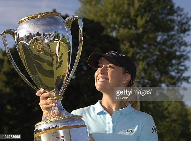 Cristie Kerr winner of the Canadian Women's Open at the London Hunt and Country Club in London Ontario on August 13 2006