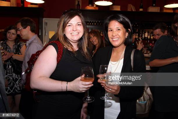 Cristie Mather and Susan Copeland attend Epicurious 15th Anniversary Dinner at Eataly on September 29 2010 in New York