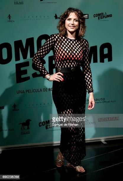 Cristina Abad attends 'Como La Espuma' Madrid Photocall on May 30 2017 in Madrid Spain