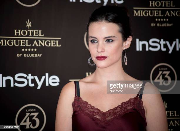 Cristina Abad attends El Jardin del Miguel Angel party photocall at Miguel Angel hotel on May 24 2017 in Madrid Spain