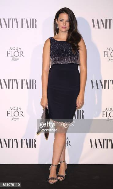Cristina Abad attends the Vanity Fair cocktail at the Casino de Madrid on September 21 2017 in Madrid Spain