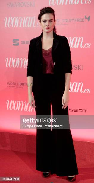 Cristina Abad attends the 'Woman 25th anniversary' photocall at Madrid Casino on October 18 2017 in Madrid Spain