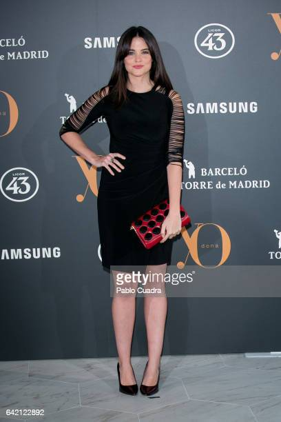 Cristina Abad attends the 'Yo Dona' party that inaugurates MercedesBenz Fashion Week Madrid Autumn/ Winter 2017 at Barcelo Torre de Madrid Hotel on...