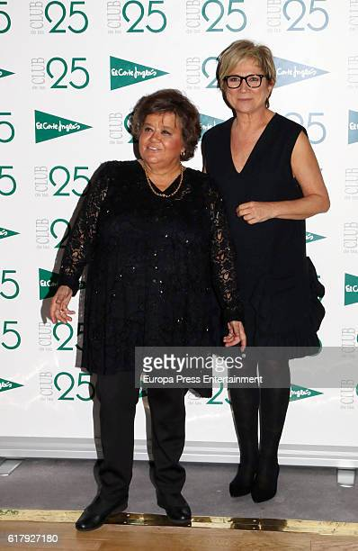 Cristina Almeida and Ines Ballester attend 'Club de las 25' Awards 2016 on October 24 2016 in Madrid Spain