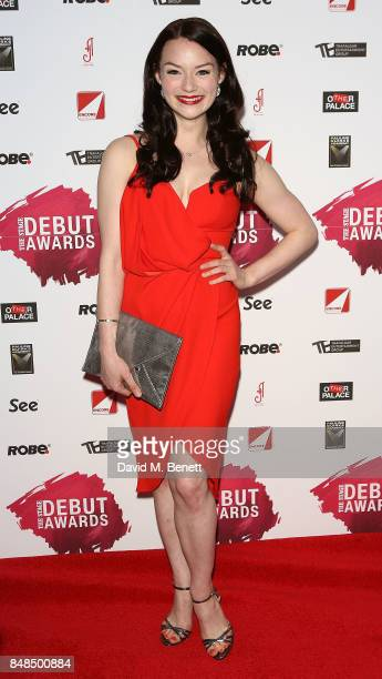 Cristina Bennington attends the Stage Debut Awards at 8 Northumberland Avenue on September 17 2017 in London England