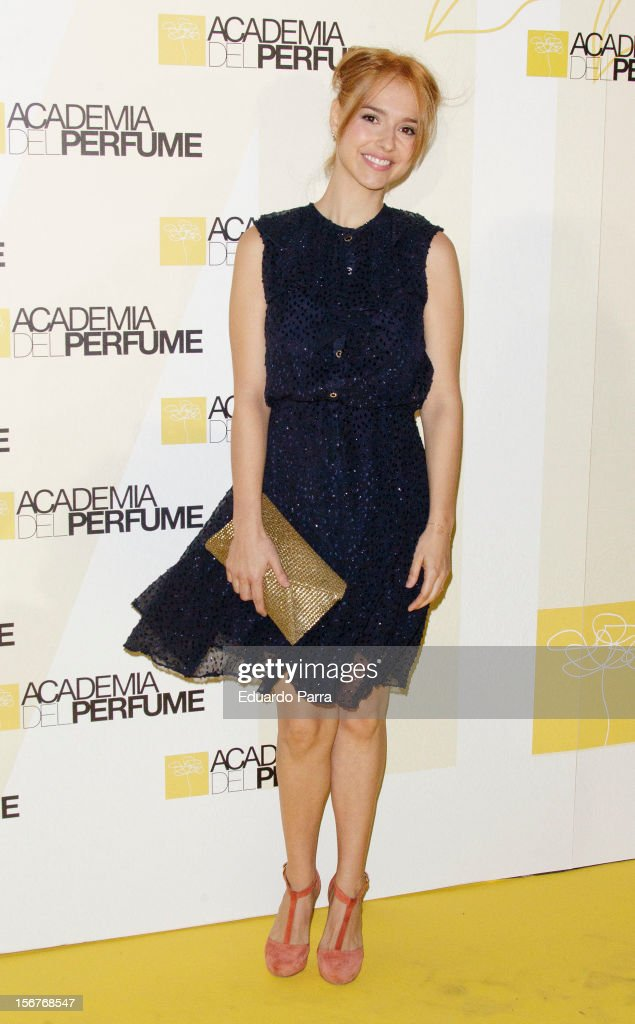 Cristina Brondo attends Academia del perfume awards photocall at Casa de America on November 20, 2012 in Madrid, Spain.