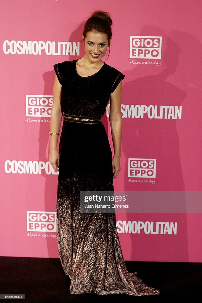 Cristina Brondo attends the Cosmopolitan Fun Fearless Female Awards 2013 at the Ritz Hotel on October 22, 2013 in Madrid, Spain.
