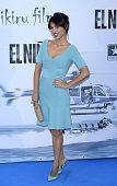 Cristina Brondo attends the premiere of 'El Nino' at Kinepolis Cinema on August 28 2014 in Madrid Spain