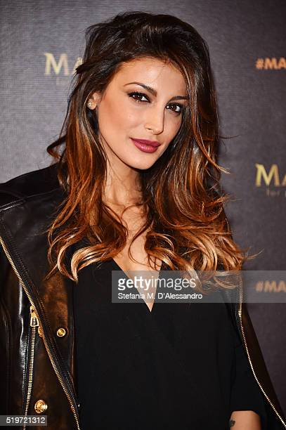 Cristina Buccino attends 'Libera Il Tuo Istinto' Party by Magnum on April 7 2016 in Milan Italy