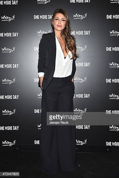 Cristina Buccino attends the 'One More Day' premiere on May 7 2015 in Milan Italy