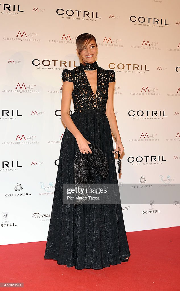 <a gi-track='captionPersonalityLinkClicked' href=/galleries/search?phrase=Cristina+Chiabotto&family=editorial&specificpeople=888613 ng-click='$event.stopPropagation()'>Cristina Chiabotto</a> attends the Alessandro Martorana birthday party at Four Seasons Hotel on March 6, 2014 in Milan, Italy.