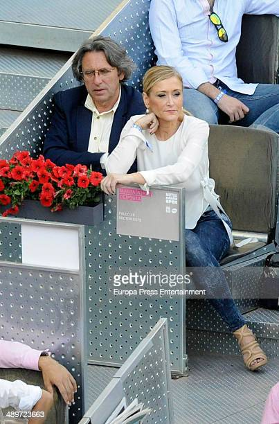 Cristina Cifuentes attends Mutua Madrid Open at La Caja Magica on May 11 2014 in Madrid Spain