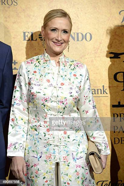 Cristina Cifuentes attends the 'Paquiro' Bullfight Award Ceremony at The Ritz Hotel on October 1 2015 in Madrid Spain