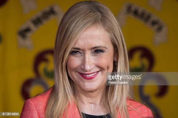 Cristina Cifuentes attends the Red Cross Fundraising day event on October 5 2016 in Madrid Spain