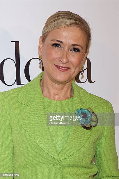 Cristina Cifuentes attends 'Yo Dona' Magazine party at the Stock Exchange building on November 27 2014 in Madrid Spain