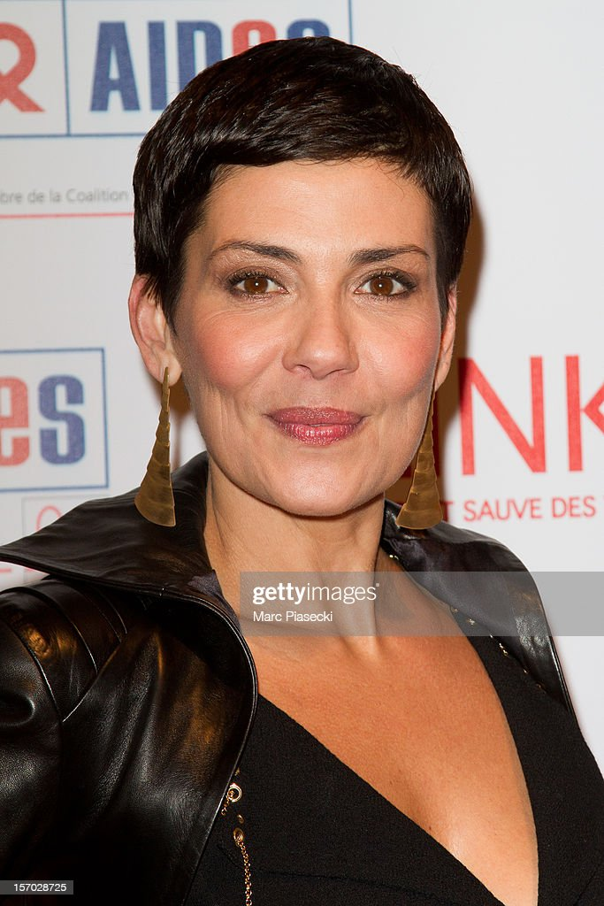 Cristina Cordula attends the LINK dinner for AIDS '100 photographes se mobilisent contre le Sida' at Grand Palais on November 27, 2012 in Paris, France.