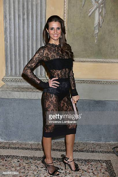 Cristina De Pin attends the 'Fondazione IEO CCM' Christmas Dinner For on December 16 2014 in Monza Italy
