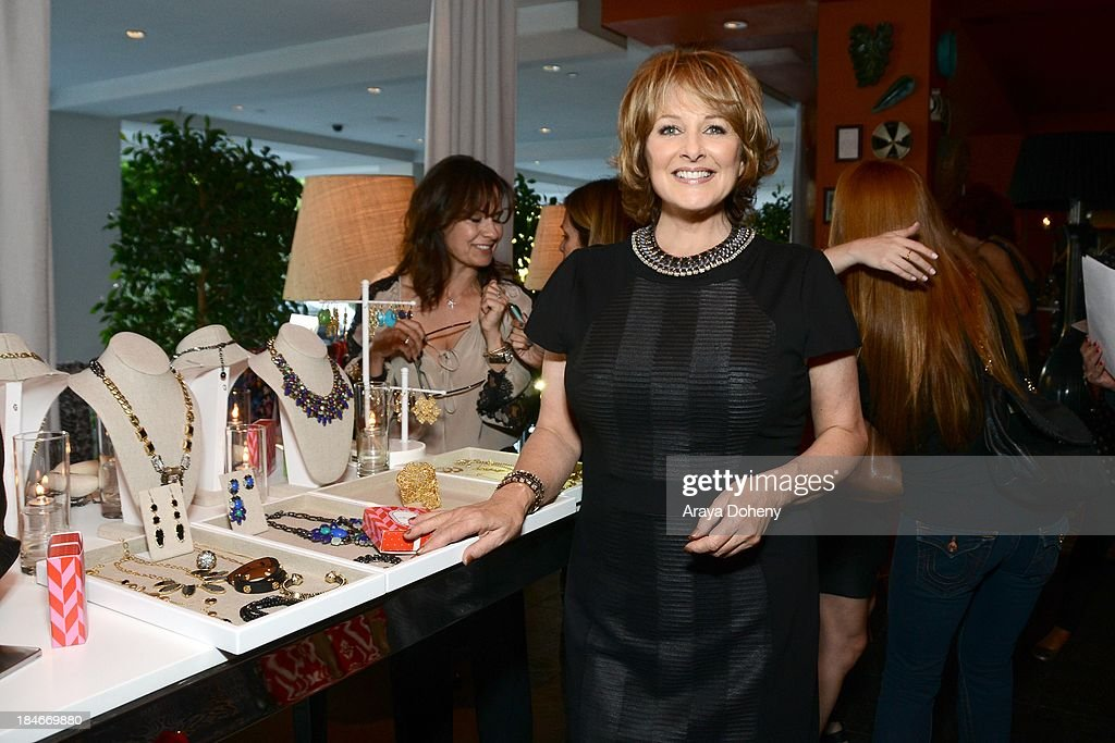 Cristina Ferrare attends the Stella & Dot Trunk Show Benefiting The Noreen Fraser Foundation at The Bazaar at the SLS Hotel Beverly Hills on October 14, 2013 in Los Angeles, California.